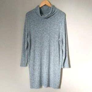 Old Navy Gray Soft Stretchy Long Tunic Top XL